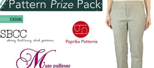 My sewing indie pattern prizes