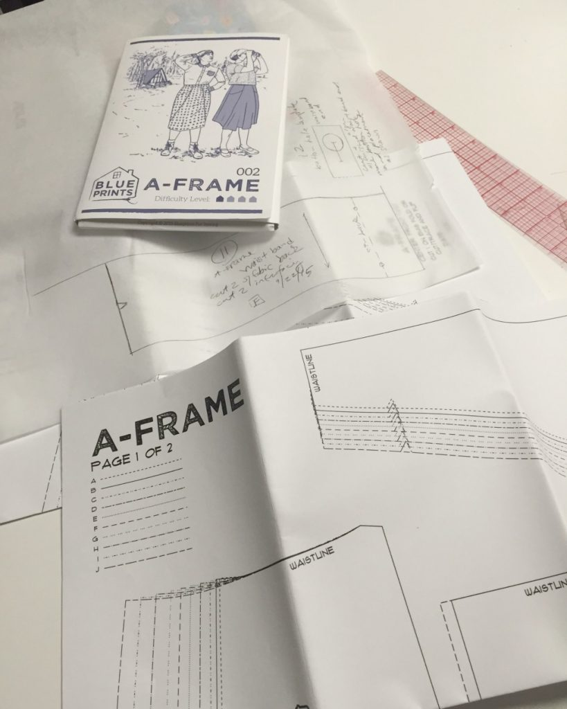 Tracing A-Frame skirt - csews.com