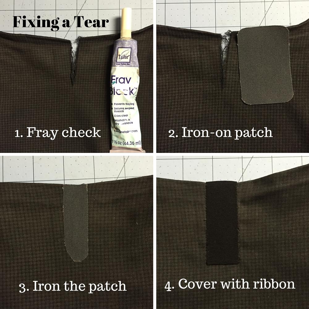 Repairing a tear - csews.com