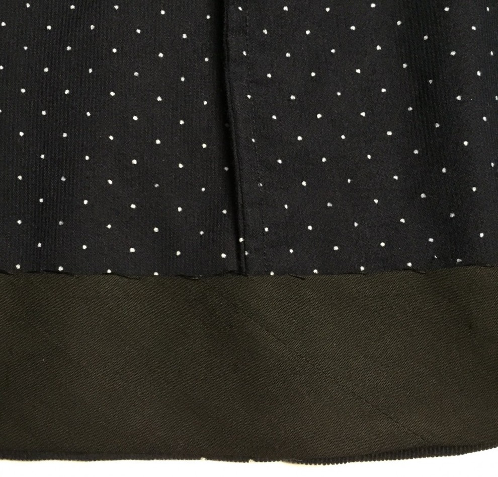 Nita Wrap Skirt - Sew DIY pattern - French seams & bias tape hem