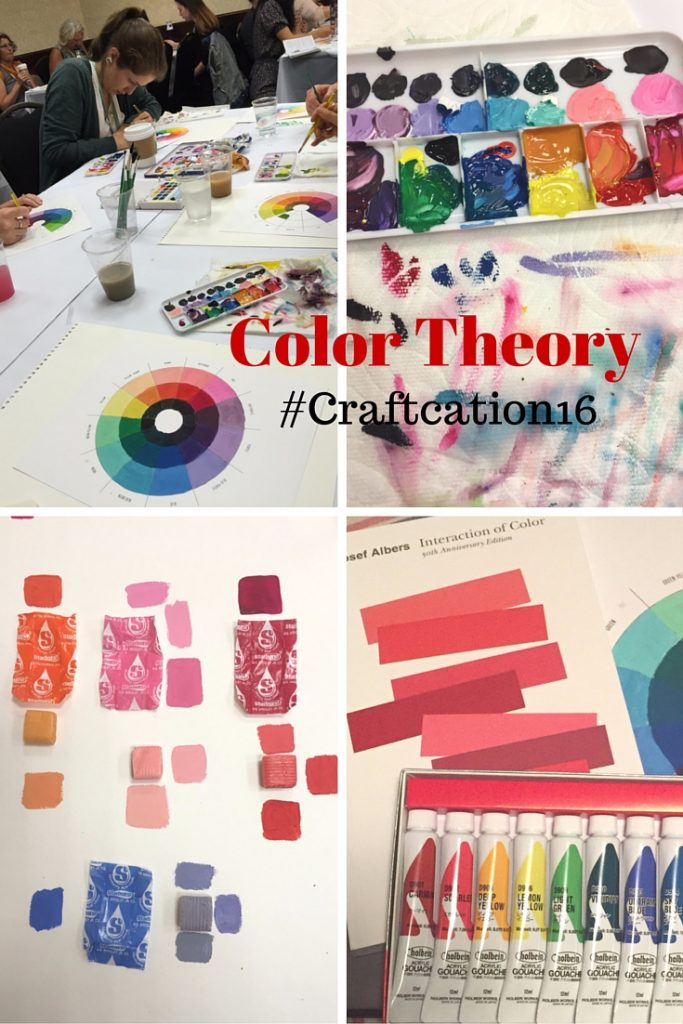Color theory with Lisa Solomon at Craftcation 2016 - csews.com
