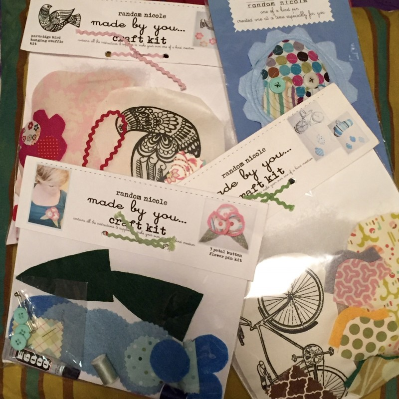 Random Nicole craft kits - csews.com