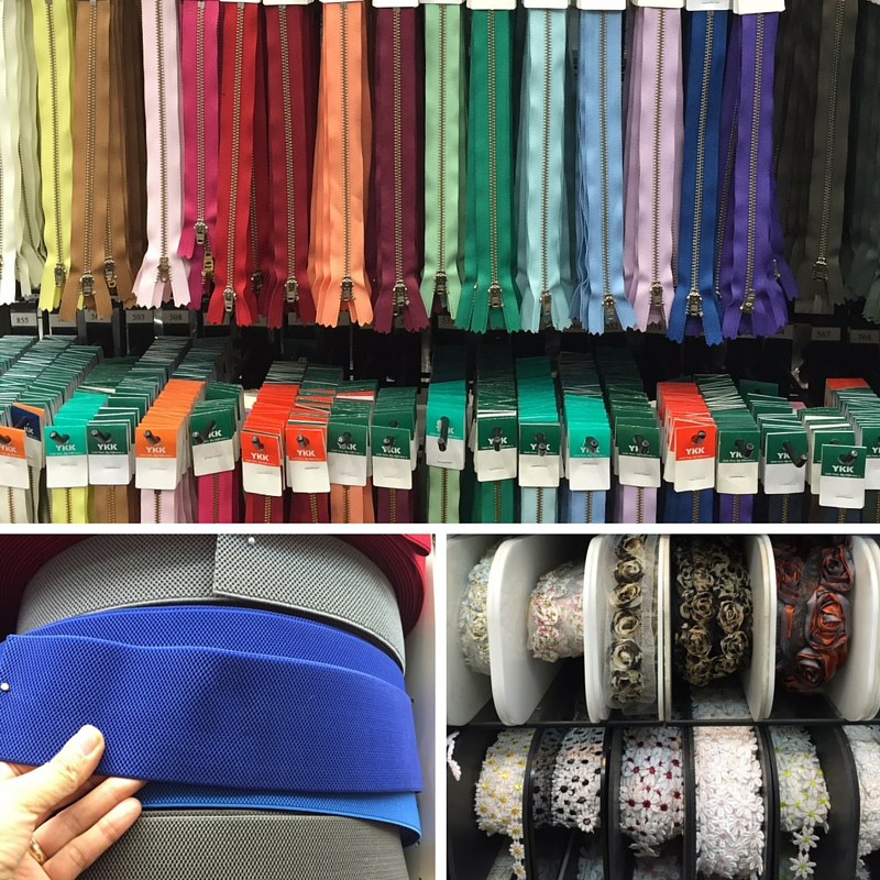 Notions - Garment District - New York City - C Sews - csews.com
