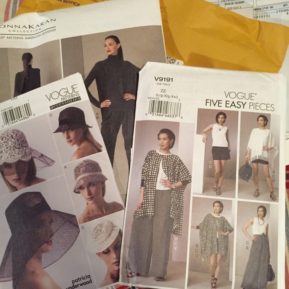 Vogue patterns - V1417 - V8891 - V9191 - csews.com