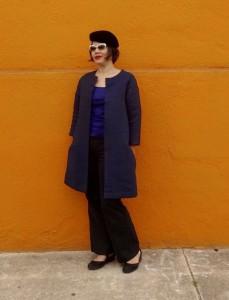Pilvi Coat from Lotta Jansdotter Everyday Style - sewing book - C. Sews - csews.com