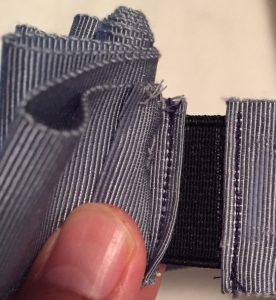 Tutorial: How to make a removable ribbon hat band - Petersham ribbon, millinery
