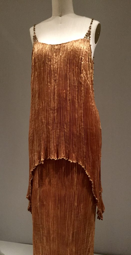 Manus x Machina - Fortuny pleated gown, 1920s haute couture
