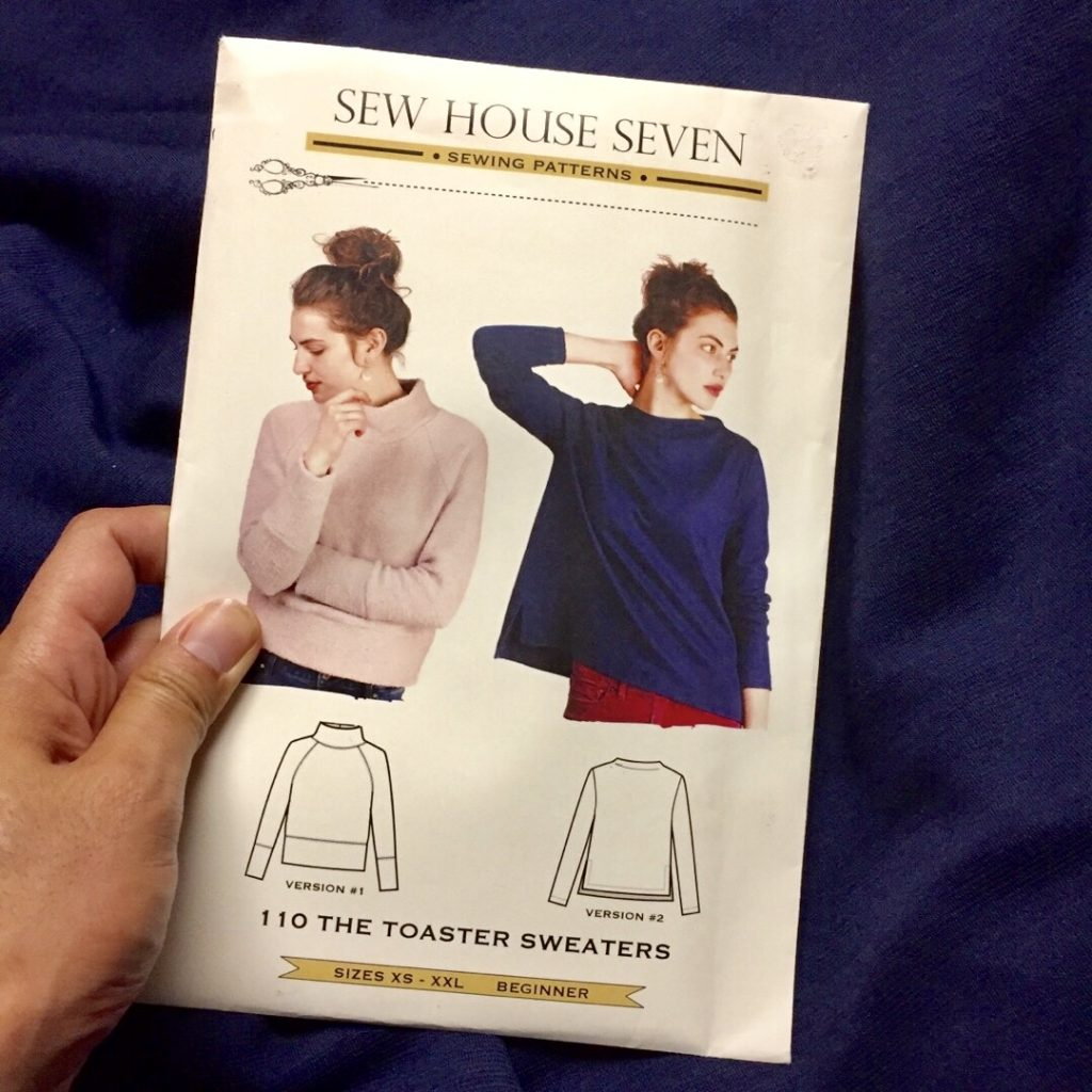 Sew House 7 Toaster Sweater sewing pattern
