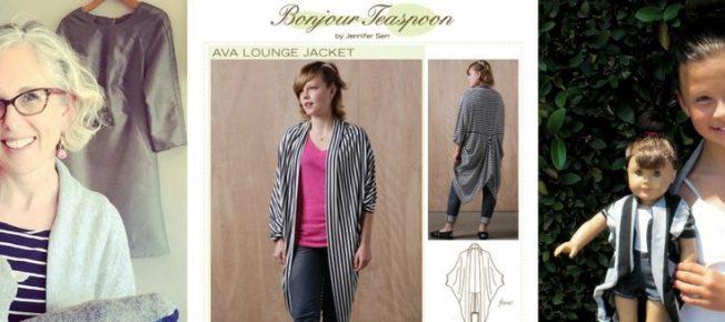 Jennifer Serr and Bonjour Teaspoon sewing patterns