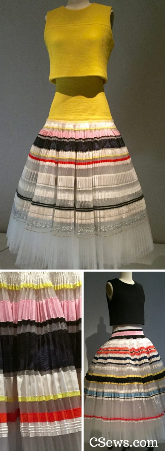 Manus x Machina - House of Dior by Rafe Simons - white silk organdy hand-pleated skirts, haute couture