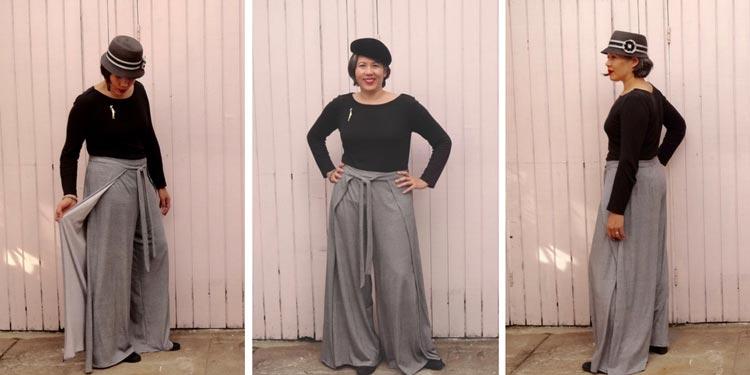 Vogue 9191 wrap pants