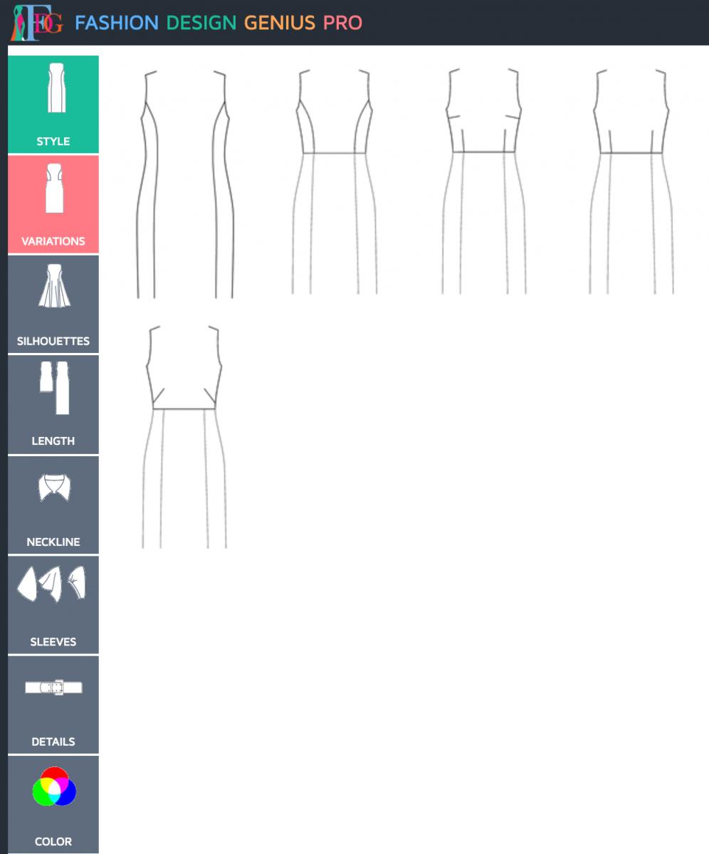 Bootstrap Fashion design app