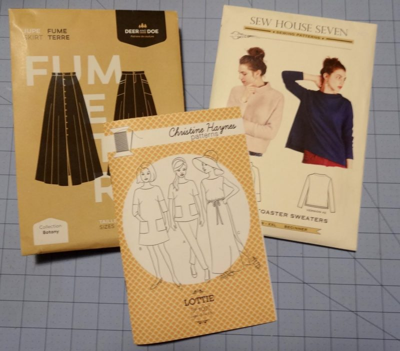 Indie sewing patterns - Deer and Doe, Christine Haynes and Sew House Seven