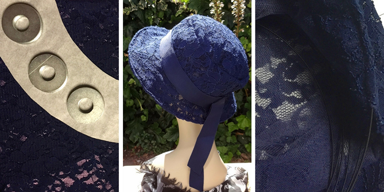 Making a lace hat - Vogue patterns V8891 by Patricia Underwood