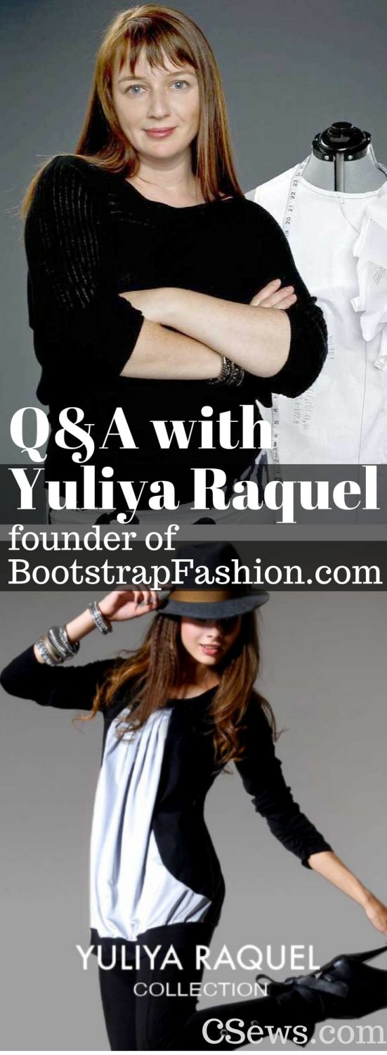 Q&A with fashion industry disruptor Yuilya Raquel, founder of Bootstrap Fashion