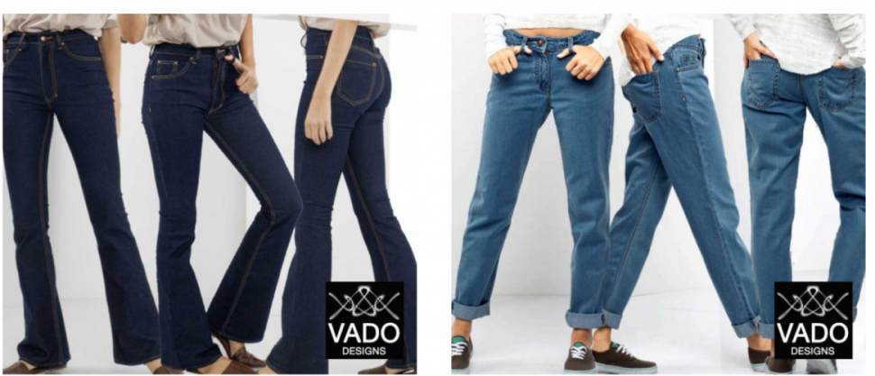 Vado jeans on Bootstrap Fashion