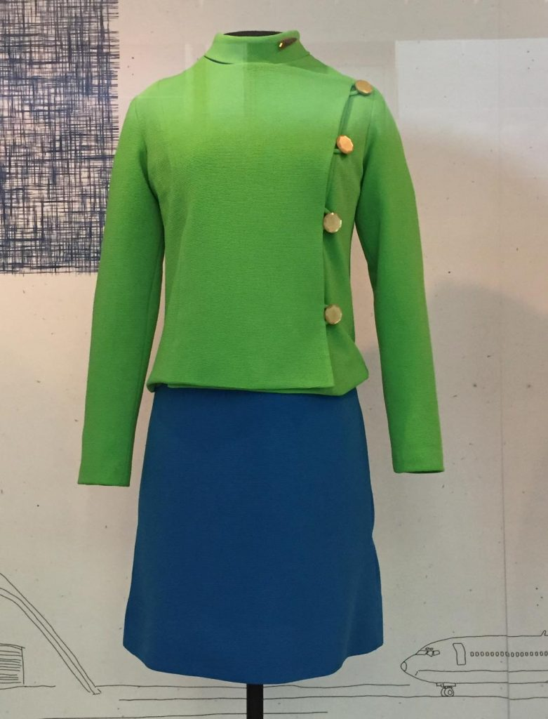 Air West 1968 uniform designed by Oleg Cassini