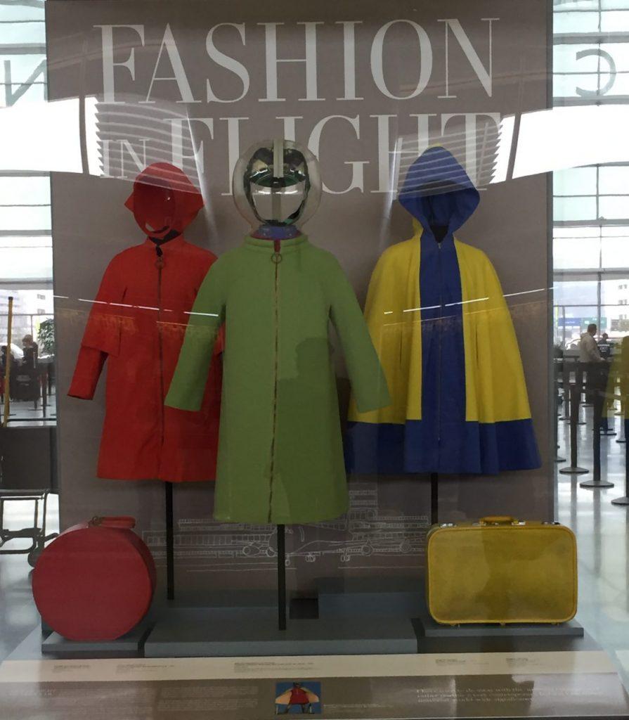 Fashion in Flight - outerwear
