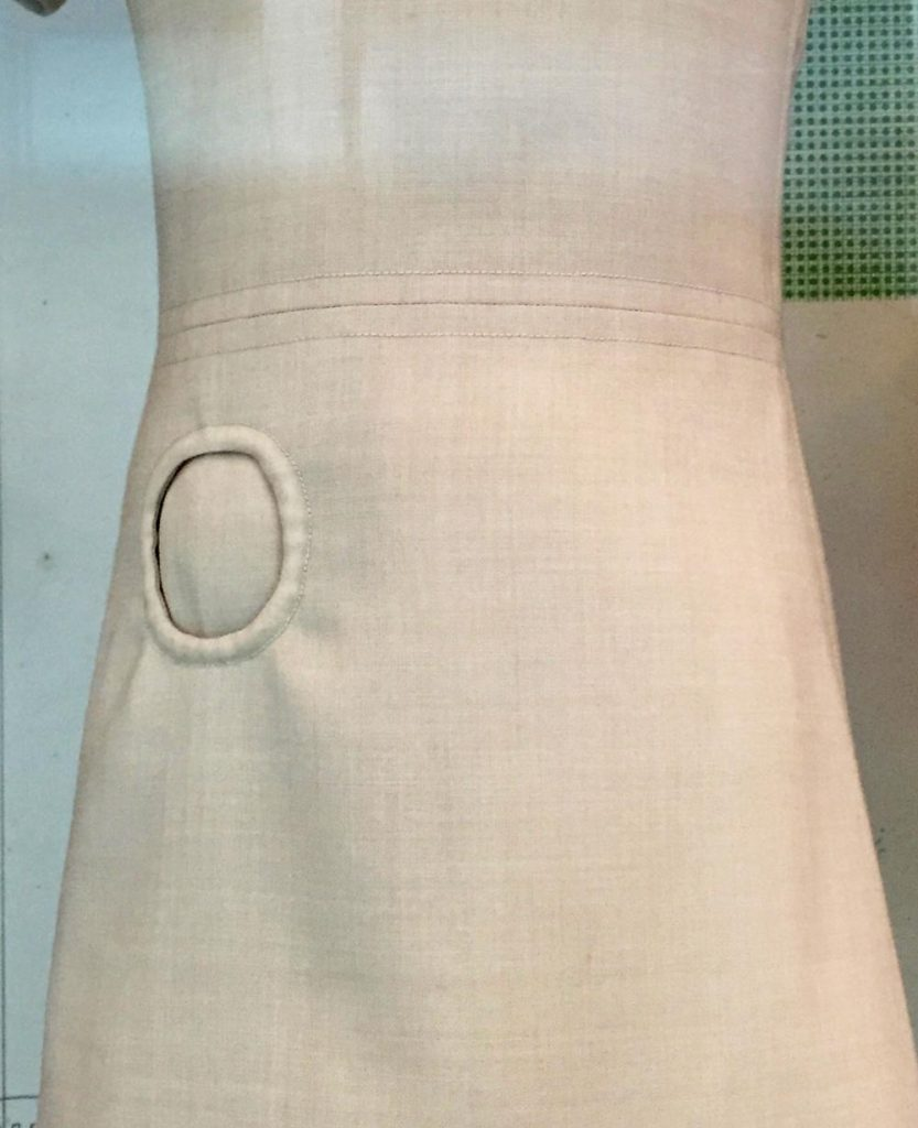 Union de Transport Aériens - uniform designed by Pierre Cardin - 1968