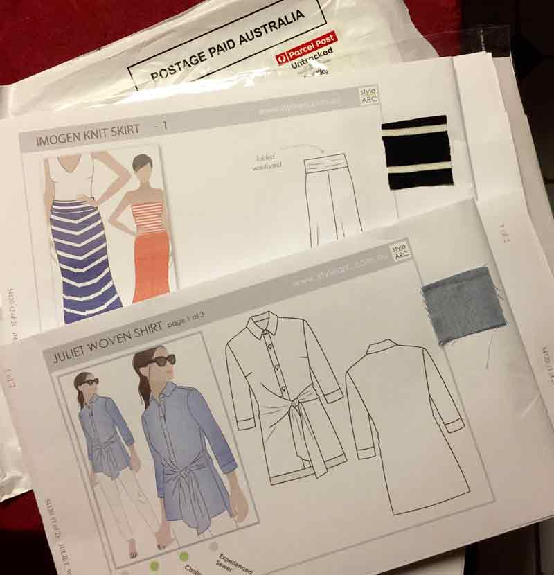 StyleArc and Papercut Patterns - two indie sewing patterns - C Sews
