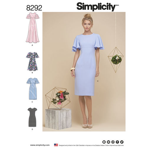 Sewing Pattern Wedding Dress 99 Luxury Simplicity Pattern Misses u
