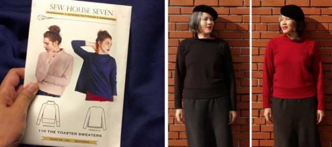 Pattern review - Sew House Seven Toaster Sweater