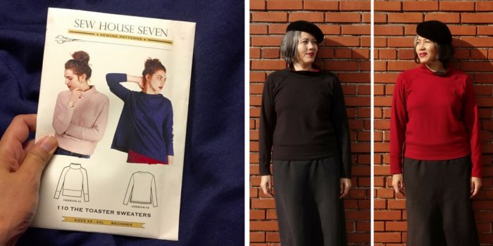 Pattern review – Sew House Seven Toaster Sweater