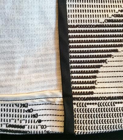 Pilvi Coat - from Lotta Jansdotter Everyday Style - hem detail