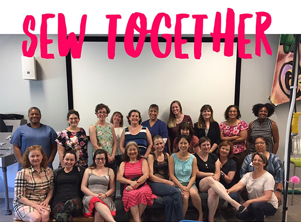 Sew Together at Google Garage in Mountain View