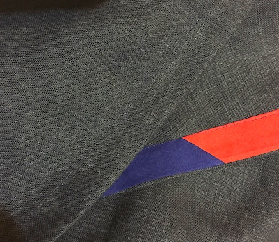 Bias tape hem finish - CSews.com