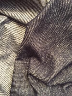 Photo - knit fabric - looks like denim