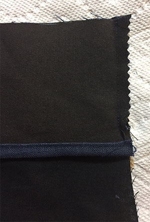 Tutorial - Fashion fabric for top of pocket