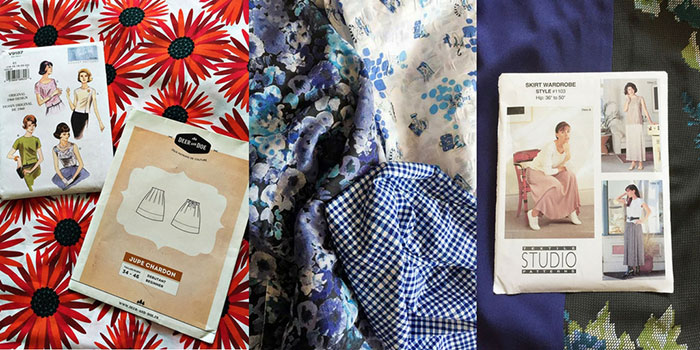 Summer sewing plans