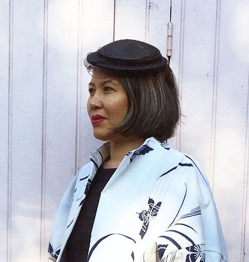 Vintage hat with veil - C Sews