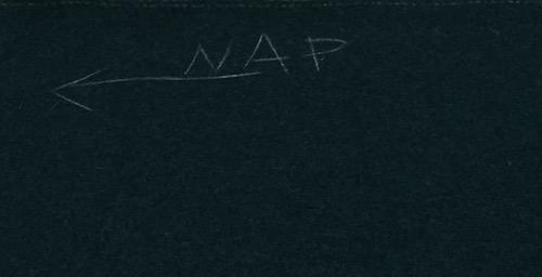 Wool melton - direction of nap - CSews
