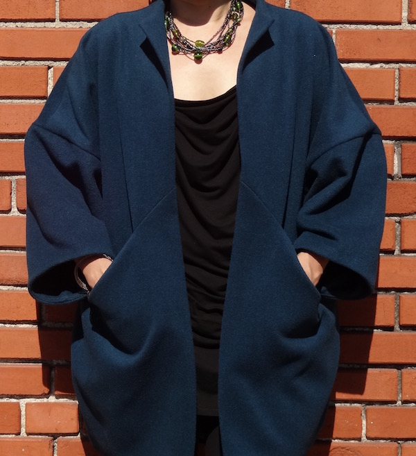 Sapporo Coat - pockets - CSews