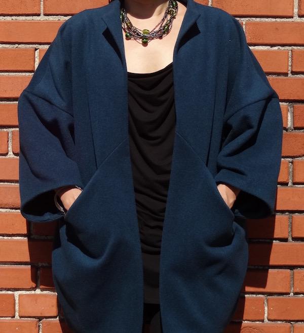 Sapporo Coat - pockets - CSews