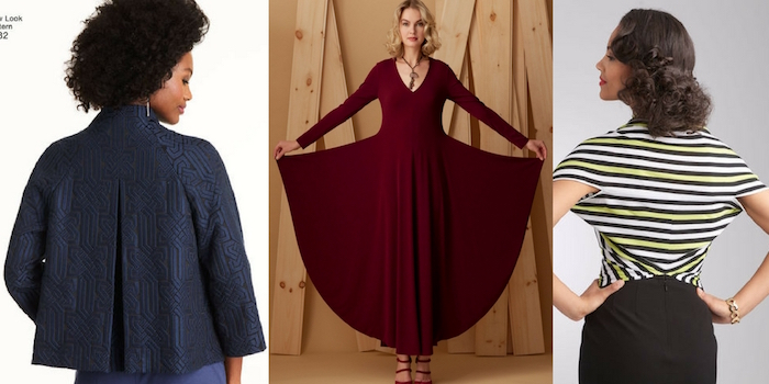 Fall sewing patterns – Simplicity and Vogue