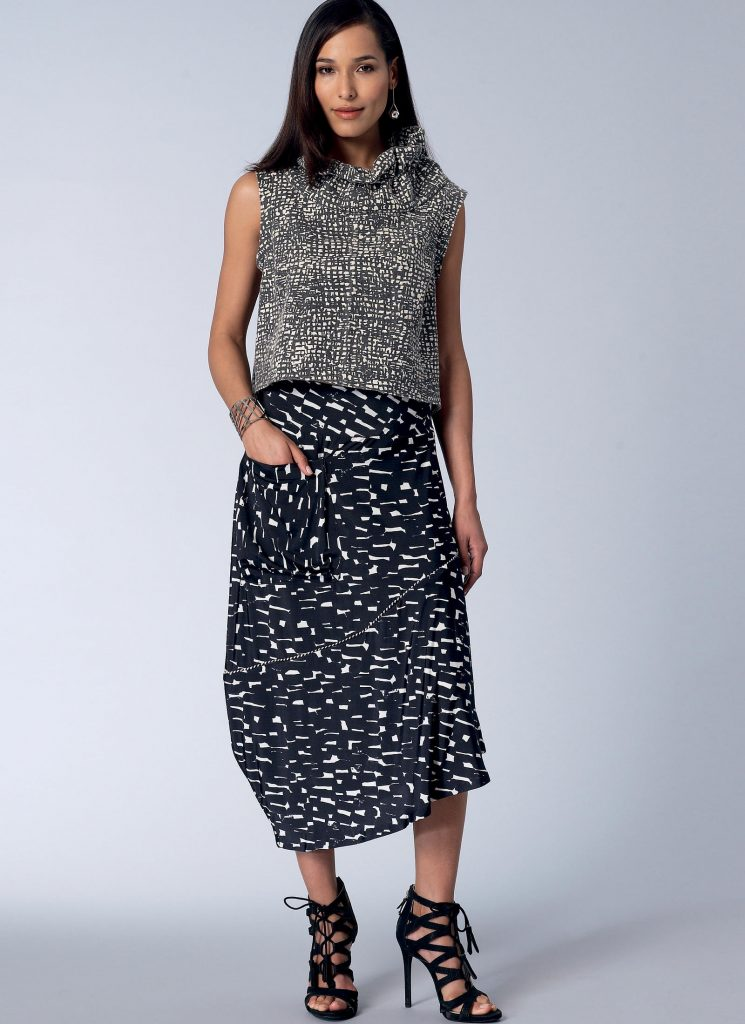 Fall sewing pattern - Today's Fit - Sandra Betzina - V1515