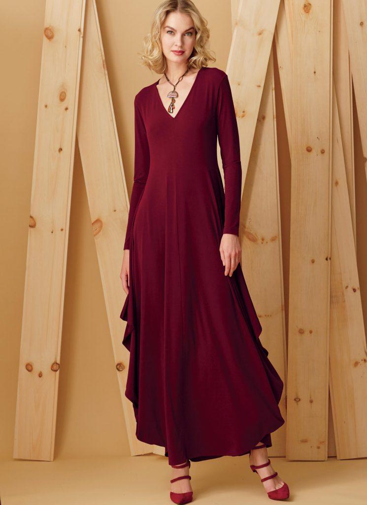 Fall sewing pattern - V9268 Kathryn Brenne dress