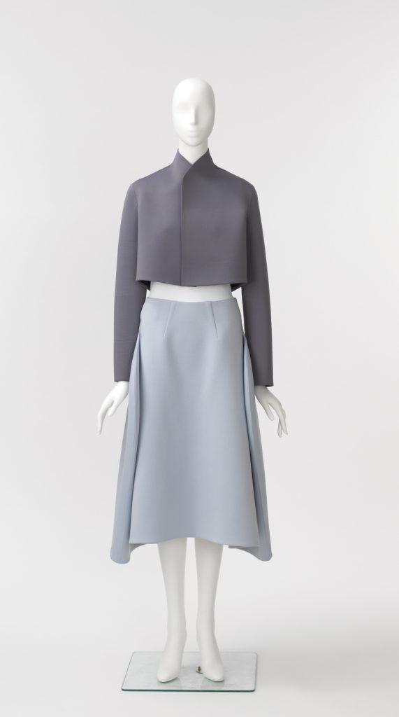 Neoprene ensemble by Im Seonoc - Couture Korea - fashion exhibit at the Asian Art Museum - CSews