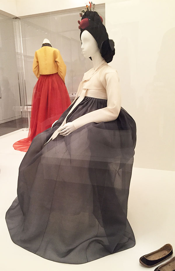 Couture Korea - Dress possibly worn by Empress Min - fashion exhibit at the Asian Art Museum in San Francisco
