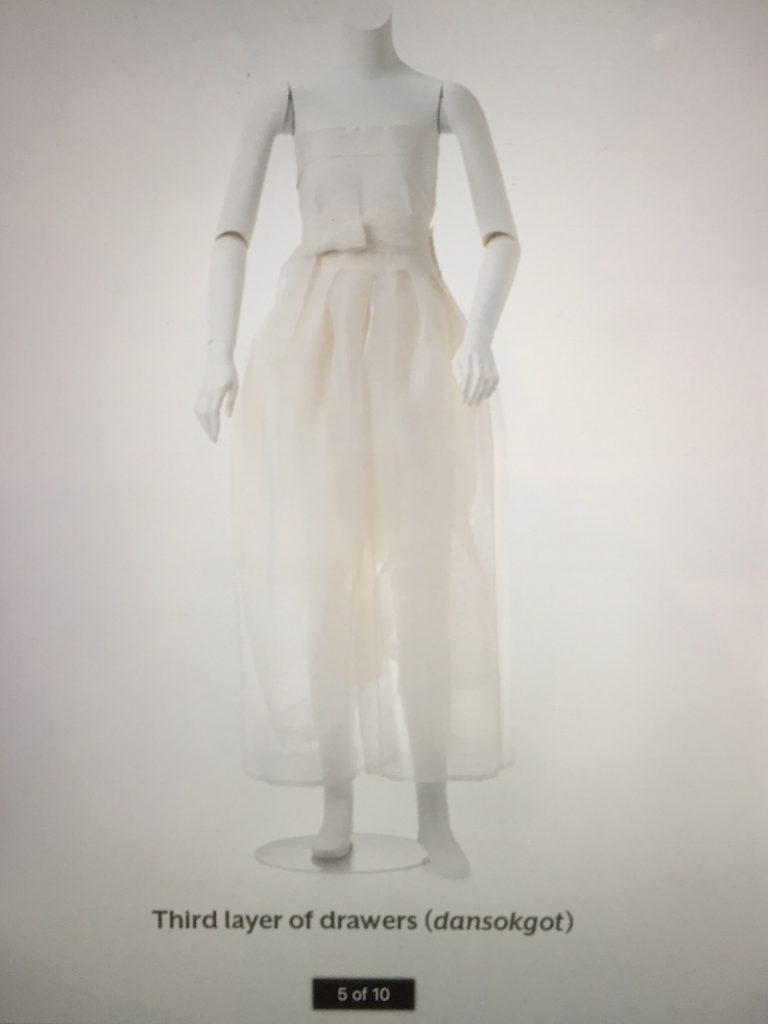 Layers of womans ensemble - Couture Korea, Asian Art Museum - CSews