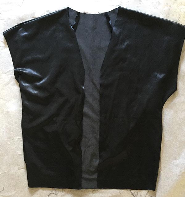Sapporo Coat lining, Papercut Patterns - CSews