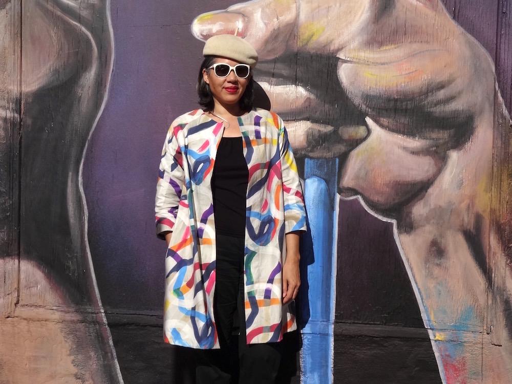 Pilvi Coat from Lotta Jansdotter Everyday Style