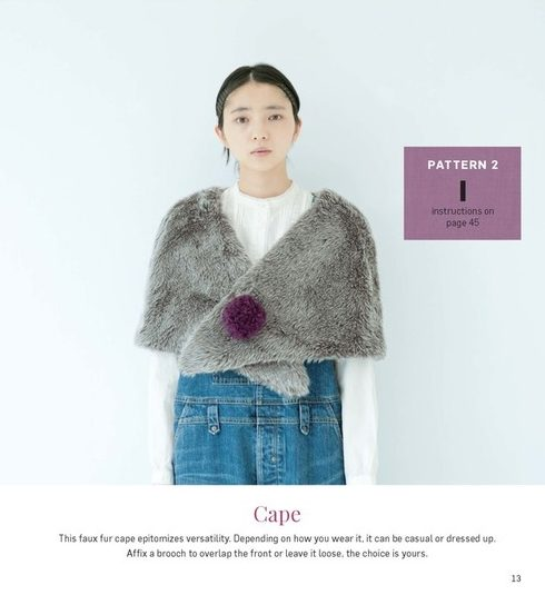 Stylish Wraps by Yoshiko Tsukiori - Tuttle Publishing - CSews