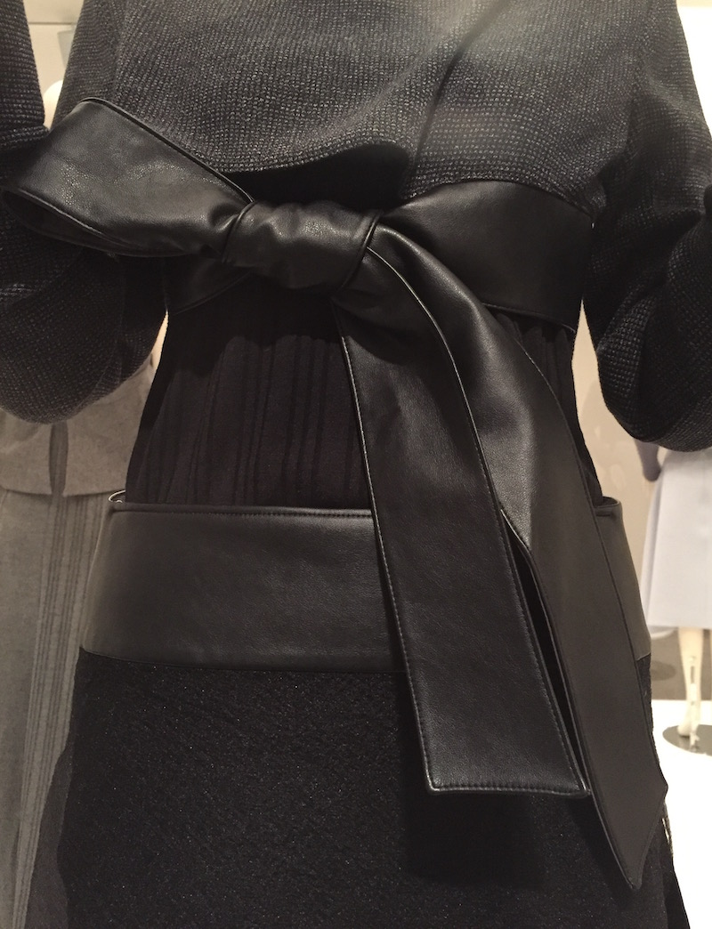Jung Misun - dress detail Couture Korea exhibit at Asian Art Museum
