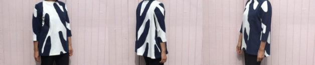 Toaster Sweater 2 - big print ponte fabric - CSews.com