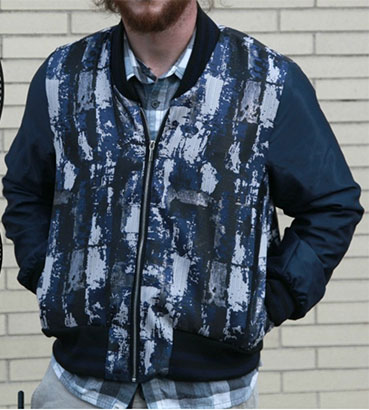 Mood Fabrics free reversible bomber jacket pattern - CSews