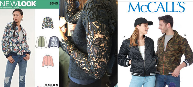 bomber jacket patterns - CSews.com